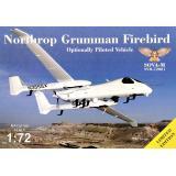 Разведчик Northrop Grumman Firebird OPV с антеннами и датчиками 1:72