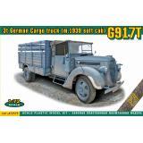 Немецкий 3-х тонный грузовик G917T (упрощенная кабина) 1:72
