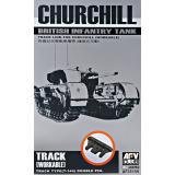 Рабочие траки для танка Churchill 1:35