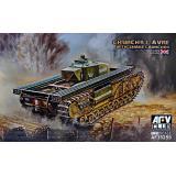 Танк Churchill Avre с Snake Launcher 1:35