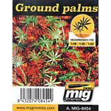 Растения, лазерная нарезка A-MIG-8454: Листя пальмы