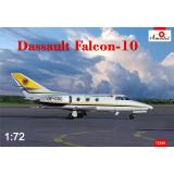 Самолет Dassault Falcon-10 1:72