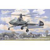 Немецкий экспериментальный вертолет Doblhoff WNF 342, Вторая мировая война 1:48