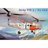 Транспортный вертолет Avia Vr-3/Fa-223 1:72