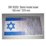 Подставка для моделей бронетехники. Тема:Израиль (370x190 мм) 1:35