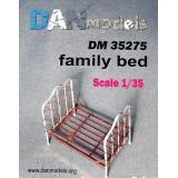 Материал для диорам: кровать 1:35