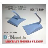 Подставка для моделей самолетов, 2 шт. 1:72