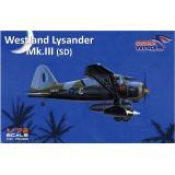Многоцелевой вспомогательный самолет Lysander Mk.III (SD) 1:72