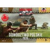 Польские офицеры в касках 1:72