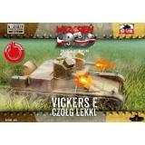 Легкий танк Vickers E 1:72