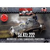 Немецкий бронеавтомобиль Sd.Kfz.222 1:72