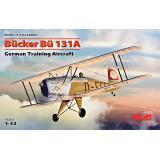 Немецкий учебный самолет Bücker Bü 131A 1:32