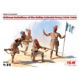 Эритрейские батальоны колониальной армии Италии,1939-1940 г. 1:35