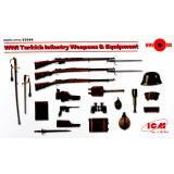 Вооружение и снаряжение пехоты Турции І МВ 1:35