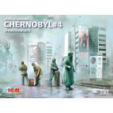 Чернобыль #4 Деактиваторы (4 фигурки)