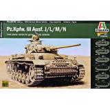 Немецкий танк PZ.Kpfw. III Ausf. J/L/M/N