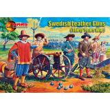 Шведские кожаные пушки (Тридцатилетняя война) 1:72