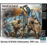 Немецкие и британские пехотинцы, Первая мировая война 1:35