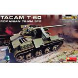 """Румынская 76-мм САУ """"TACAM"""" T-60 1:35"""