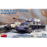 Танк Pz.Kpfw.IV Ausf. H Vomag. (Раннего производства.) Июнь 1943 г.