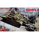 Бронированная машина БМР-1 поздней модификации с КМТ-7 1:35