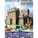 Штурм средневековой крепости 1:72