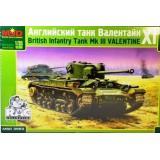 Британский пехотный танк Mk.III Valentine IX