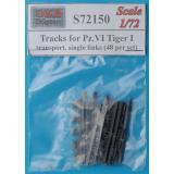 Траки для танка Pz.VI Tiger I, транспортные, 48 шт. 1:72