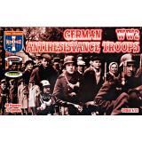 Немецкие войска сопротивления. Вторая мировая война 1:72