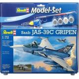 Подарочный набор с самолетом Saab JAS 39C Gripen 1:72