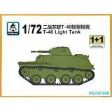 Легкий танк Т-40 (2 модели в наборе) 1:72