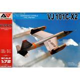 Экспериментальный реактивный истребитель VJ101C-X2 1:72