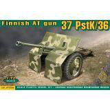 Финская 37 мм противотанковая пушка PstK/36 1:72