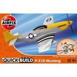 Истребитель Mustang P-51D (Lego сборка)