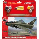 Подарочный набор с моделью самолета English Electric Lightning F2A 1:72