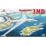 Стратегический бомбардировщик 3МД, ОКБ Мясищева 1:72