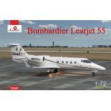 Пассажирский самолет Bombardier Learjet 55 1:72