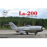 Истребитель Ла-200 с радаром