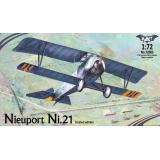 Биплан Nieuport Ni.21 1:72