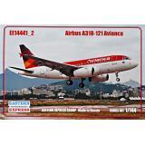 Пассажирский авиалайнер Airbus A318-121, Avianca 1:144