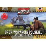 Польская пехота, минометные и пулеметные расчеты 1:72