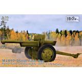 Французская 75-мм полевая пушка M1897
