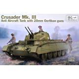 Танк Крусейдер Мк. III с противовоздушными орудиями Эрликон 20-мм. 1:72