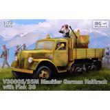 Немецкий полугусеничный грузовик V3000S/SS