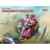 Американские водители спортивных автомобилей (1910 год) 1:24