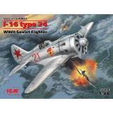 Истребитель Поликарпов И-16 тип 24 1:48