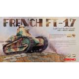 Французский легкий танк FT-17 с облегченной башней 1:35