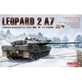 Немецкий основной боевой танк Leopard 2А7 1:35