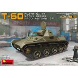 Легкий танк Т-60 завода №37, ранних выпусков с интерьером 1:35