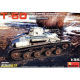 Легкий танк Т-60, поздний, с интерьером 1:35